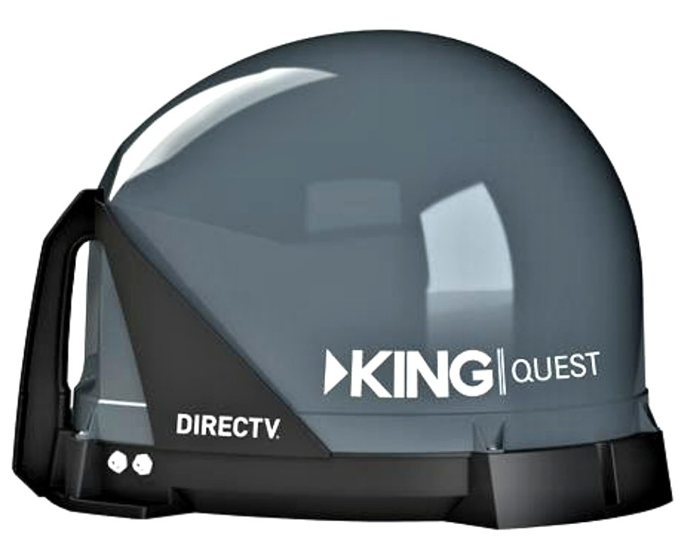 RV KING QUEST VQ4100 SATELLITE ANTENNA FOR SALE