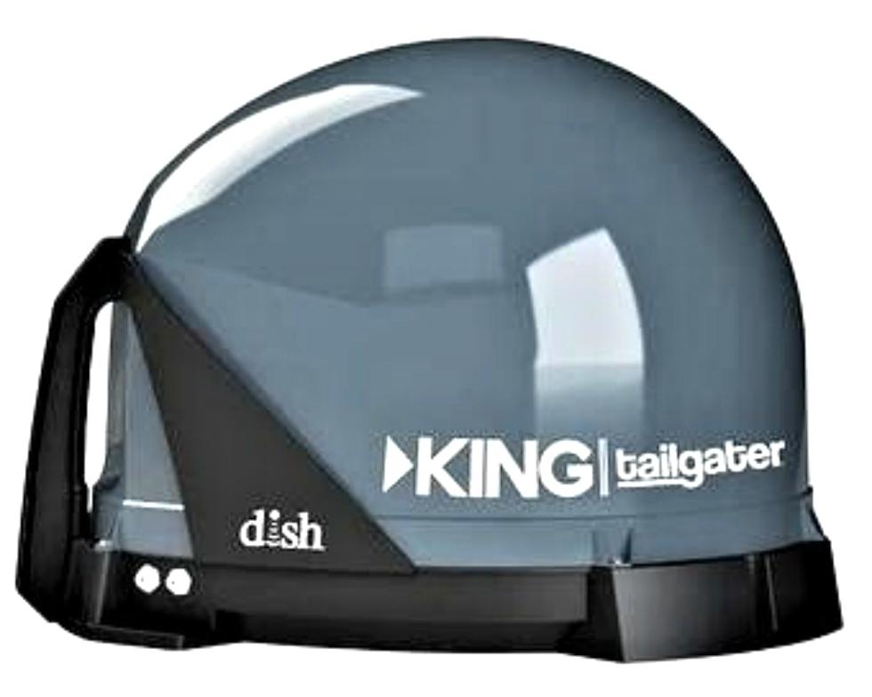 VQ4500 KING TAILGATER SATELLITE ANTENNA FOR SALE