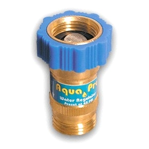 RV WATER REGULATOR AQUA PRO, STANDARD PN 27549