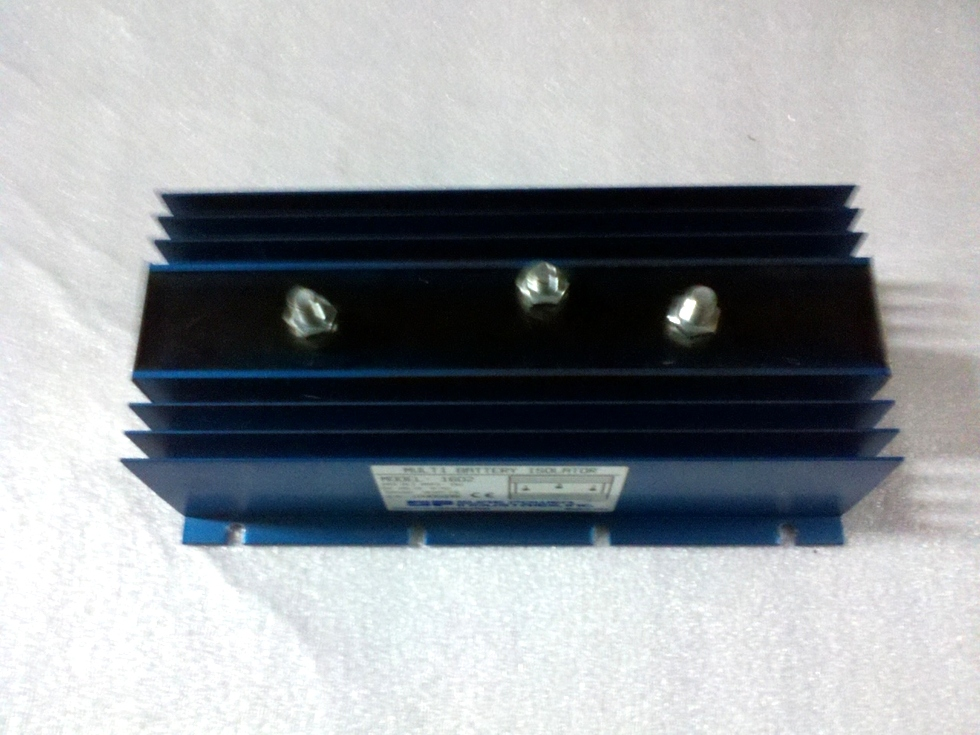 USED SURE POWER IND. BATTERY ISOLATOR MODEL: 1602