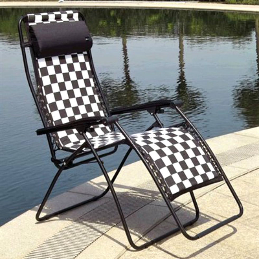 NEW RV/MOTORHOME VACATION ZERO GRAVITY OUTDOOR FAULKNER RECLINER XL FINISH LINE MODEL: 48441