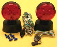 TOW LIGHTS - Husky Led Magnetic Towing Lights Part # 13818