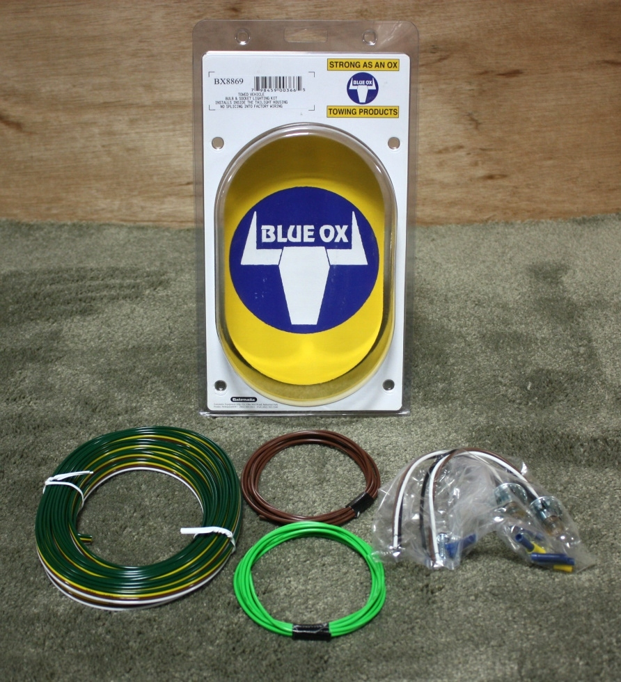 BLUE OX BX8869 TOW VEHICLE LIGHT KIT RV PARTS FOR SALE