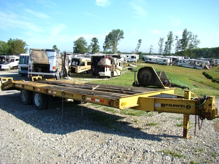 20 FT. DYNAWELD EQUIPMENT TRAILER YEAR: 2000 FOR SALE IN LONDON, KY.