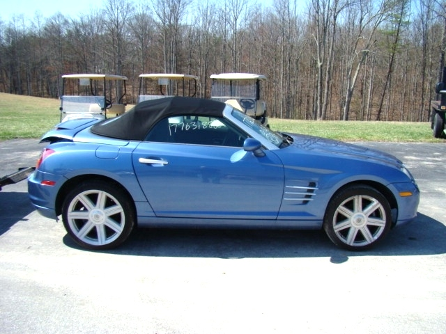 rv parts 2005 chrysler crossfire roadster salvage used parts for sale used auto parts. Black Bedroom Furniture Sets. Home Design Ideas