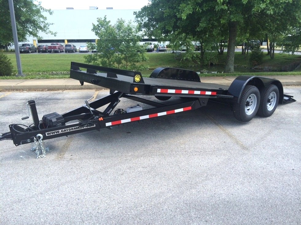 Tilt Bed Trailers POWER TILT CAR TRAILER FOR SALE Tilt Bed Trailers ...