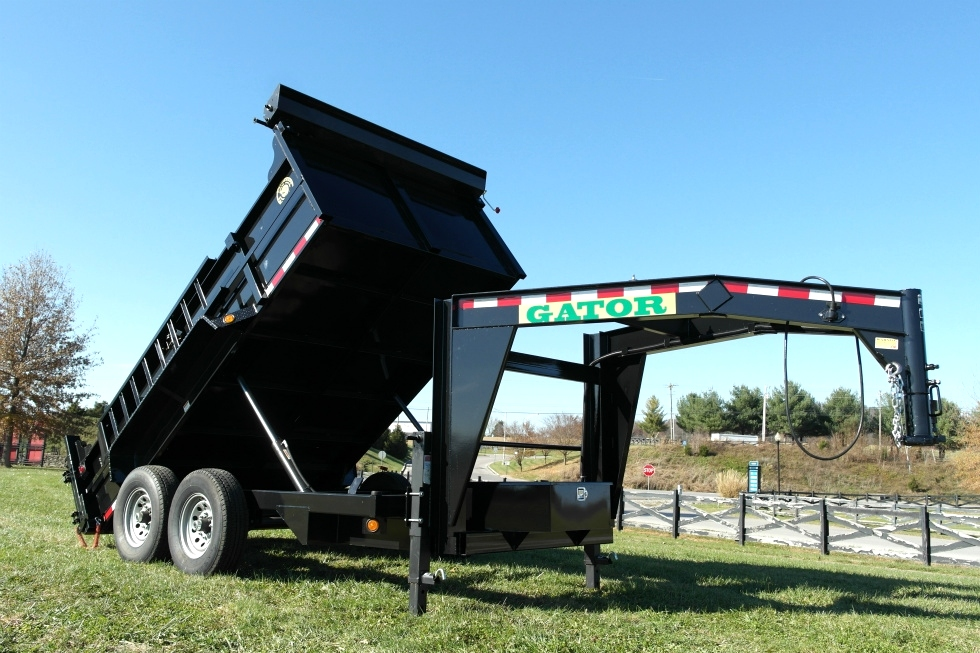 12' GOOSENECK DUMP TRAILER FOR SALE Dump Trailers
