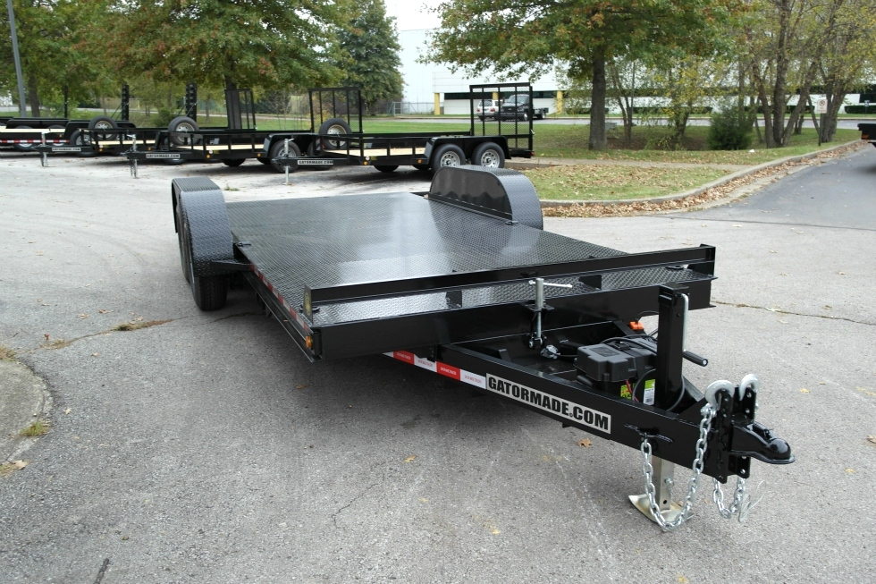 Tilt Bed Car Hauler For Sale